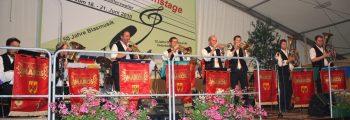 Jubiläumstage 50 Jahre Blasmusik