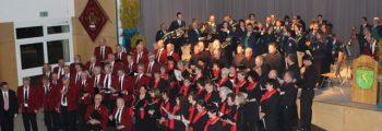 Gemeinschaftskonzert musiktreibender Vereine